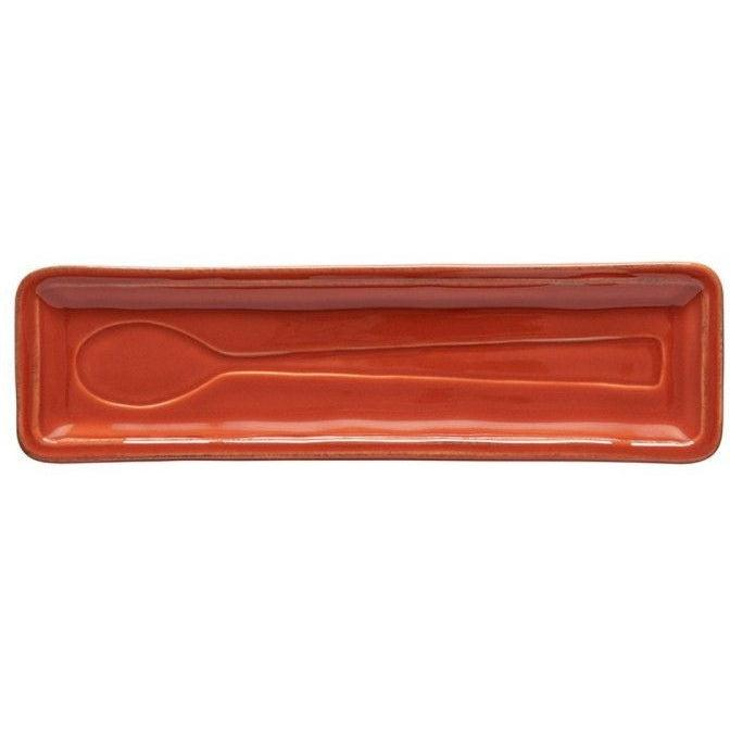 FONTANA SPOON REST (Paprika) | Serving Pieces | parker-gwen.