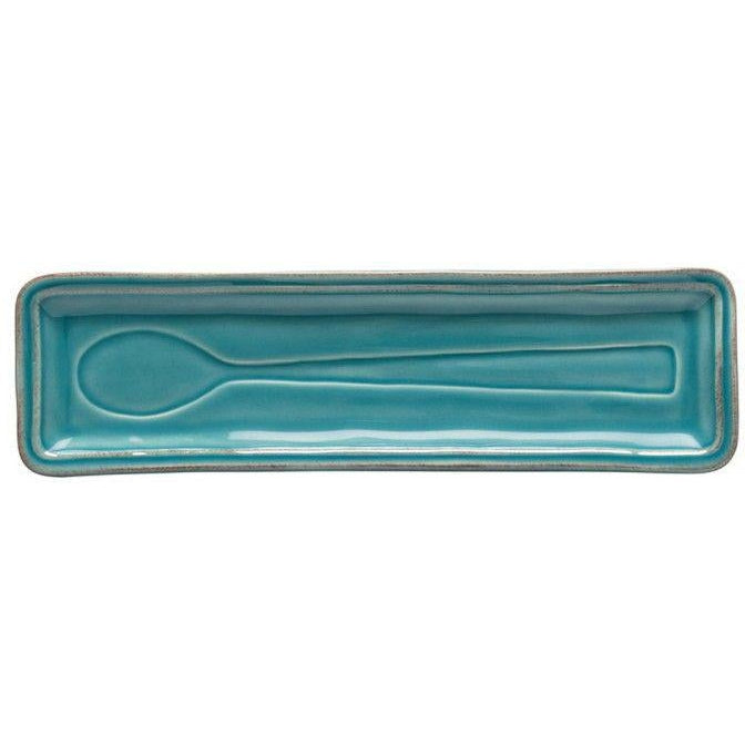 FONTANA SPOON REST (Turquoise) | Serving Pieces | parker-gwen.
