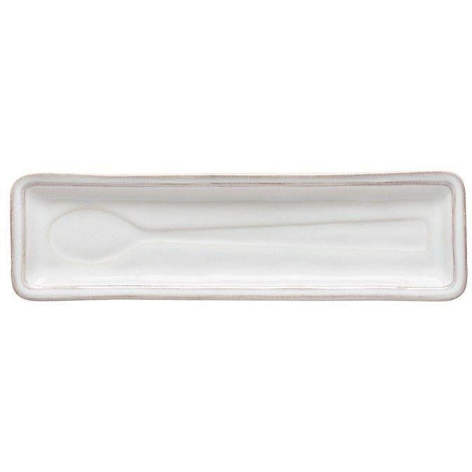 FONTANA SPOON REST (White) | Serving Pieces | parker-gwen.