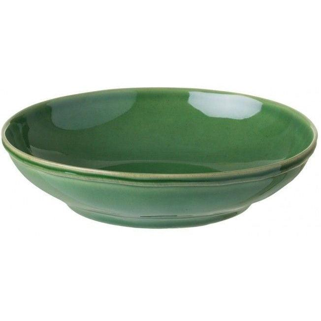 FONTANA PASTA PLATE (Verde Floresta): Set of 6 | Serving Pieces | parker-gwen.