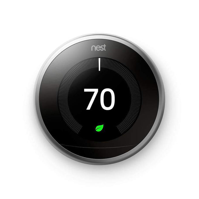 Nest Learning Thermostat 3rd Generation (Stainless Steel)