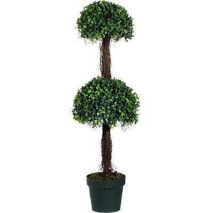 "2-tier Potted Boxwood Topiary Tree: 35"" - Parker Gwen"