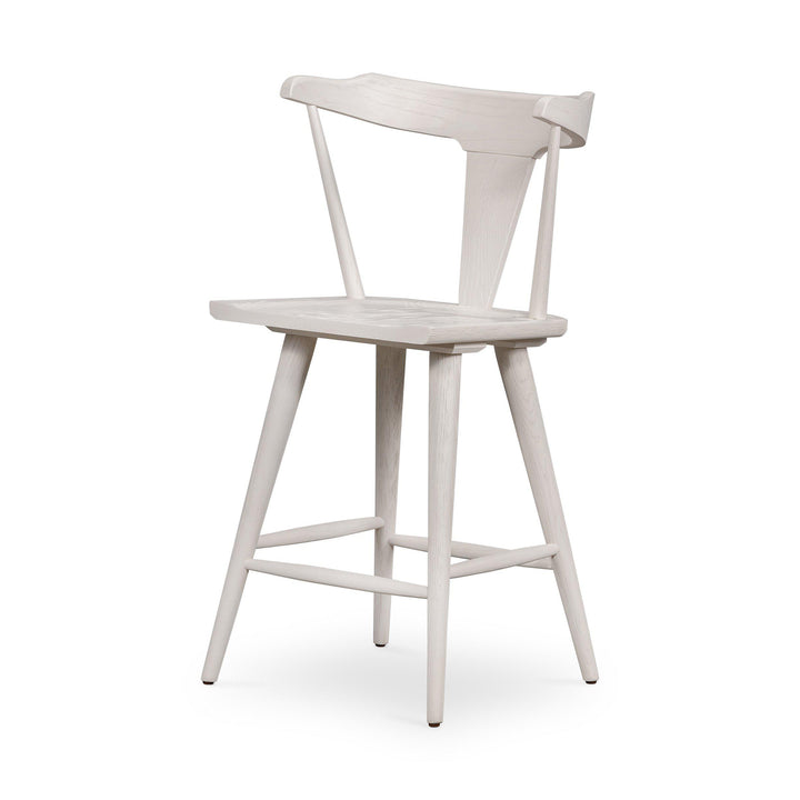 Ripley Bar or Counter Stool (Off White) | Stool | parker-gwen