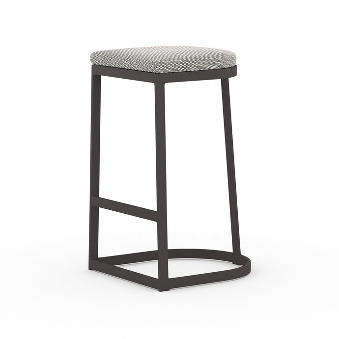 Val Outdoor Stool (Washed Brown) | Outdoor Stool | parker-gwen