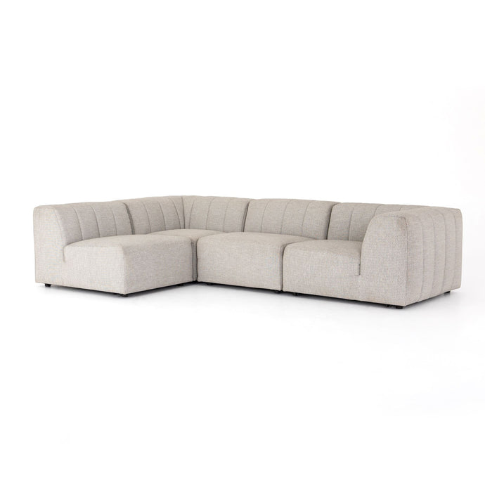Gwen Outdoor 4-Piece Sectional Sofa | Outdoor Lounging | parker-gwen