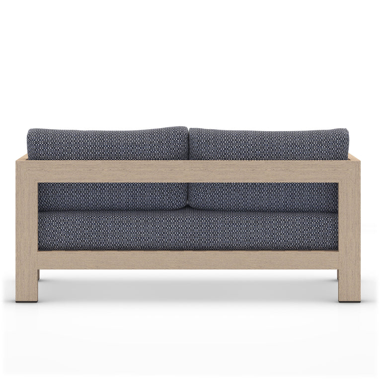"Caro 62"" Outdoor Sofa (Brown & Faye Navy)"