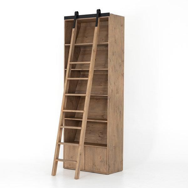 Bane Bookshelf with Optional Ladder | Bookcase | parker-gwen