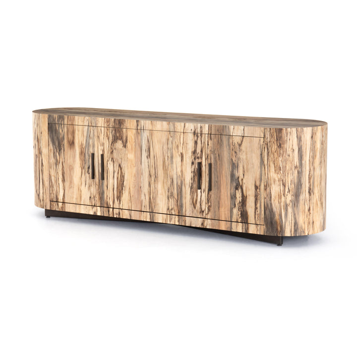 "Hudson 74"" Media Console (Spalted Primavera) 