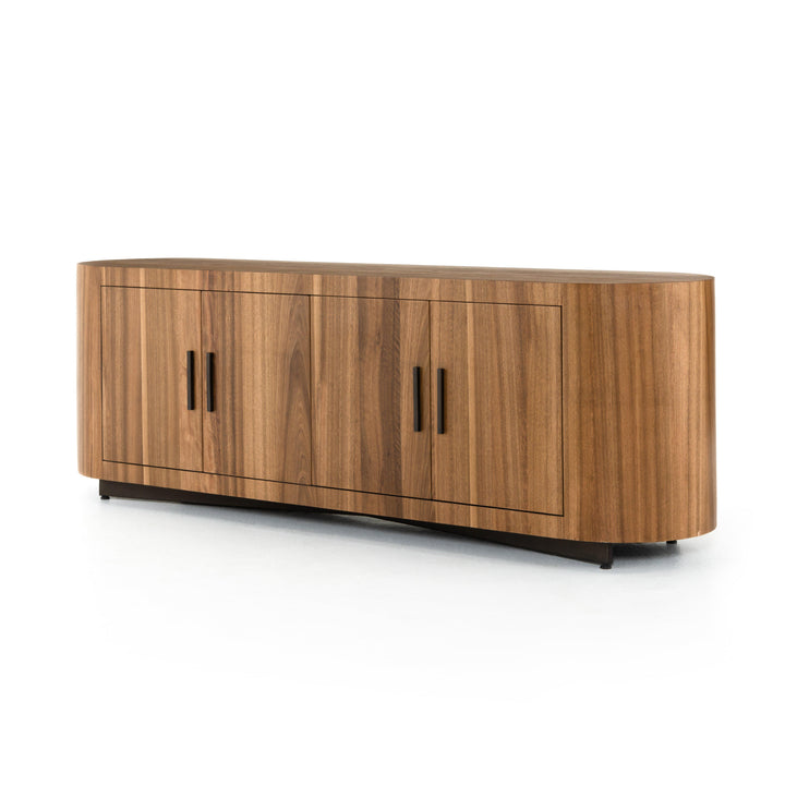 "Hudson 74"" Media Console (Natural Yukas) 