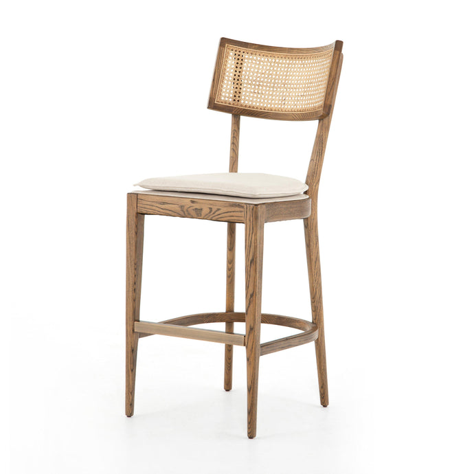 Britt Cane Wood Counter & Bar Stool (Nettlewood)