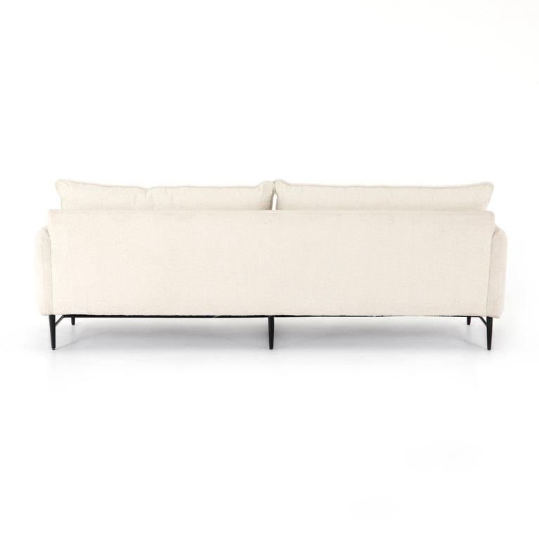 "Delaney 93"" Sofa (Altro Snow)"