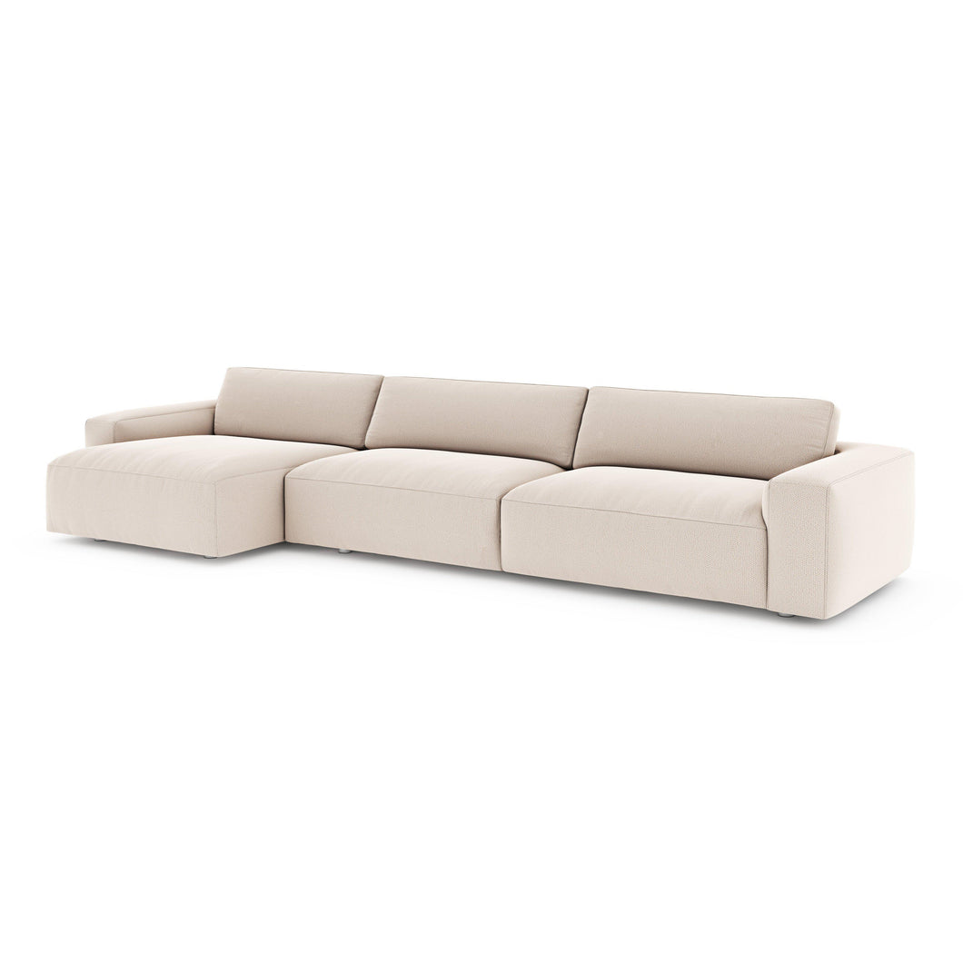 Fenton Recycled Materials Left or Right Chaise Sectional (Tacoma Ash)