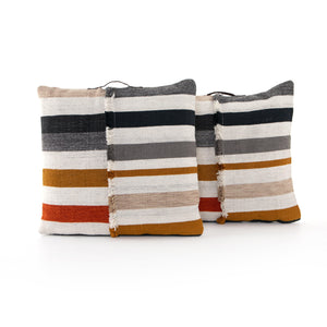 "Leira Outdoor 30"" Floor Pillow - Set of 2"