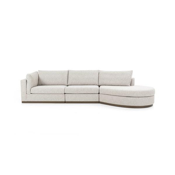 Jagger 3-Piece Left or Right Chaise Sectional