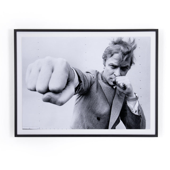 Michael Caine Punch Framed Photograph - Getty Images | Print | parker-gwen.