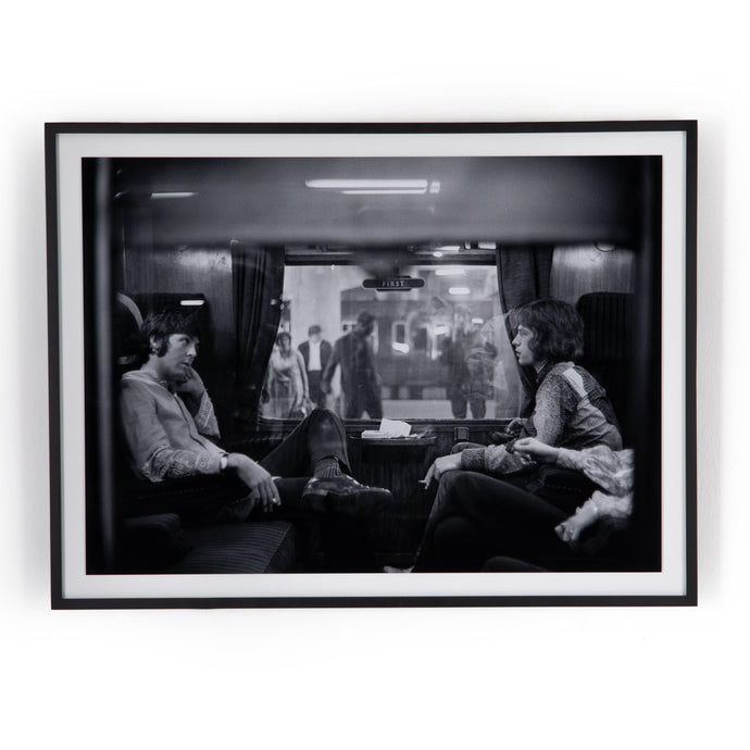 McCartney & Jagger Framed Photograph - Getty Images | Print | parker-gwen.