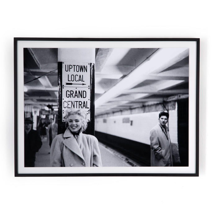 Grand Central Marilyn Framed Photograph - Getty Images | Print | parker-gwen.