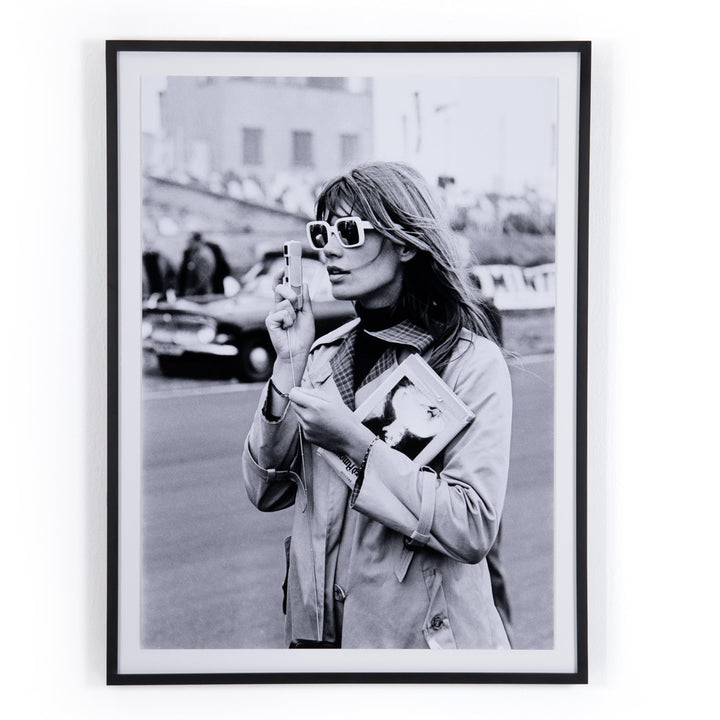 Francoise Hardy Framed Photograph - Getty Images | Print | parker-gwen.