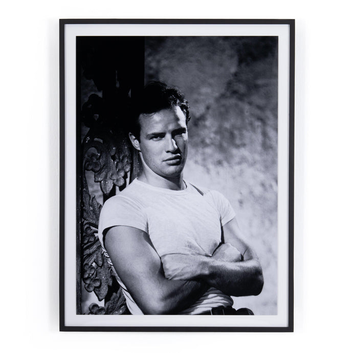 Marlon Brando Framed Photograph - Getty Images | Print | parker-gwen.