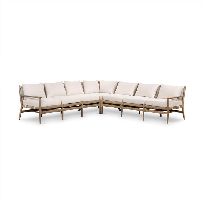 Rosen 3-Piece Sectional (Natural Eucalyptus)