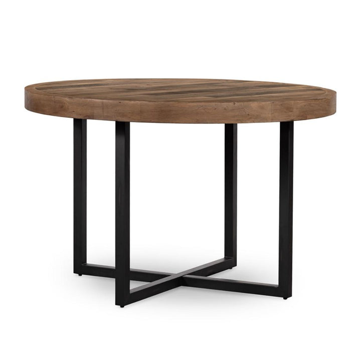 "Woodenforge Reclaimed 47"" Round Dining Table 