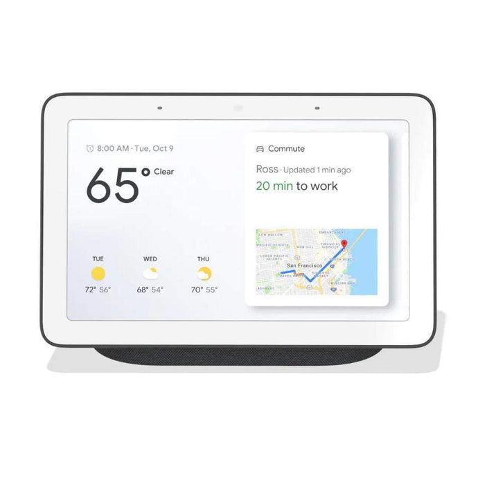 Google Nest Hub with Google Assistant (Charcoal) - Parker Gwen