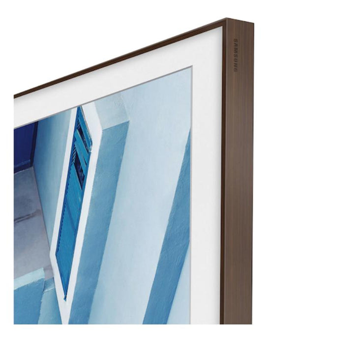 "Samsung 75"" The Frame Customizable Bezel - Brown (2020) 