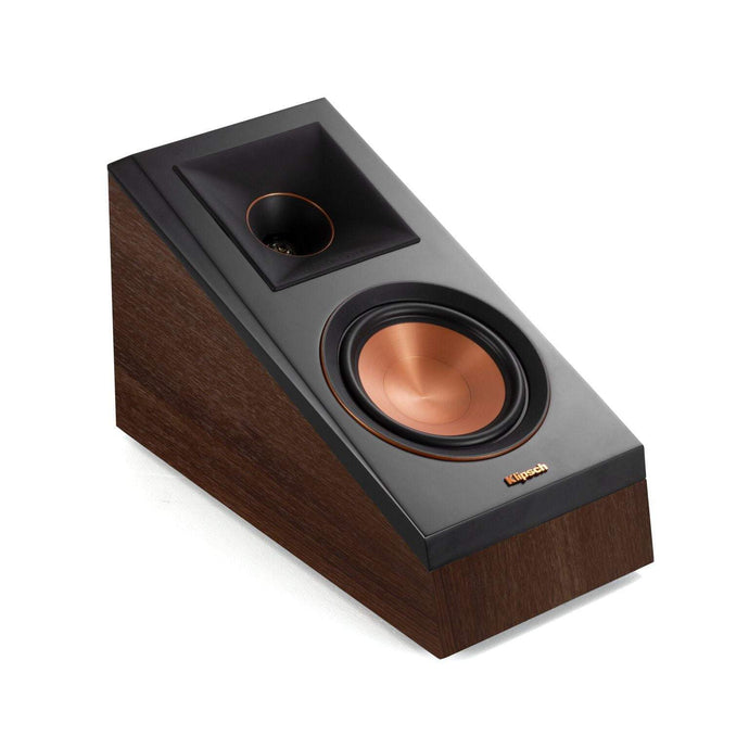 Klipsch Reference Premiere RP-500SA DOLBY ATMOS ELEVATION / SURROUND SPEAKER PAIR (Walnut) - Parker Gwen
