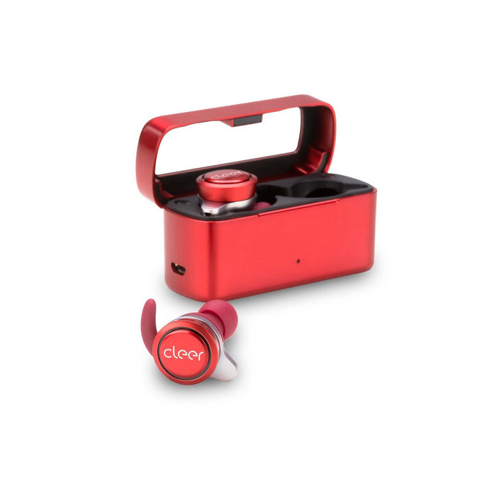 Cleer Audio Ally True Wireless Earbuds (Red) | Earbuds | parker-gwen