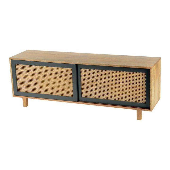 "Ashton 55"" Sliding Door Media Console - Parker Gwen"