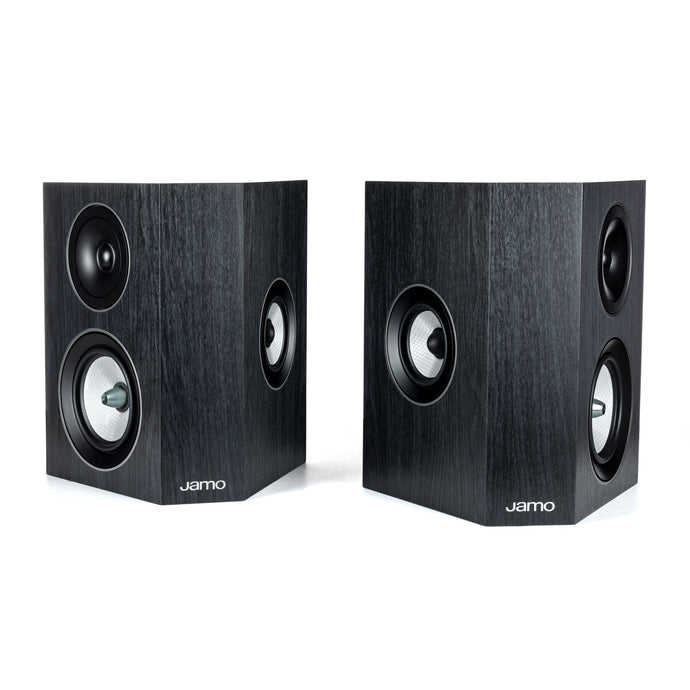 Jamo Concert Series C 9 SUR II 3-Way Speaker Pair (Black Ash)