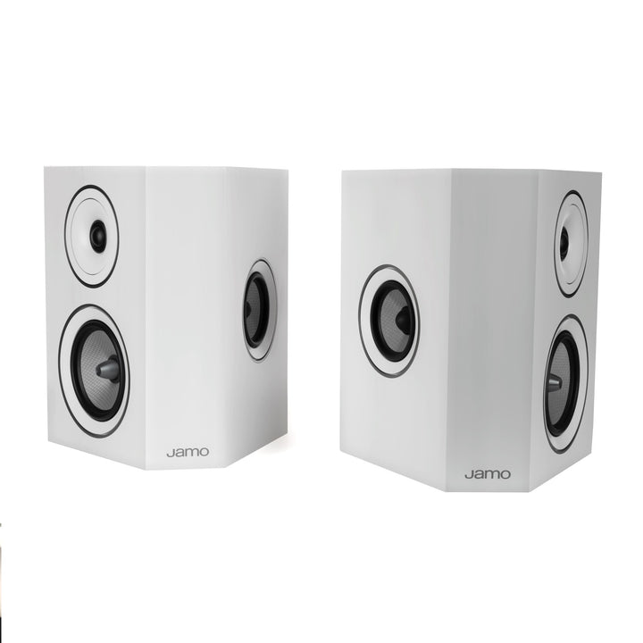 Jamo Concert Series C 9 SUR II 3-Way Speaker Pair (White Oak)