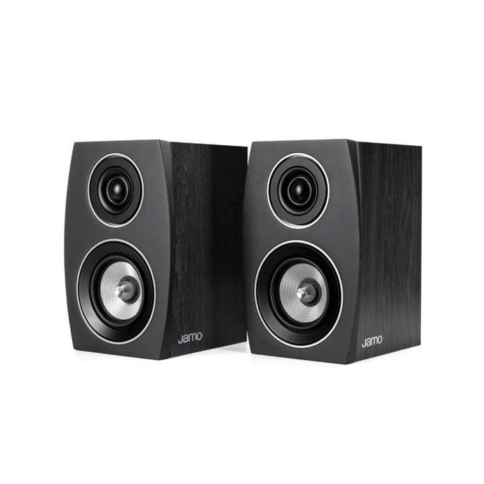 Jamo Concert Series C 91 II Bookshelf 2-Way Speaker Pair (Black Ash)