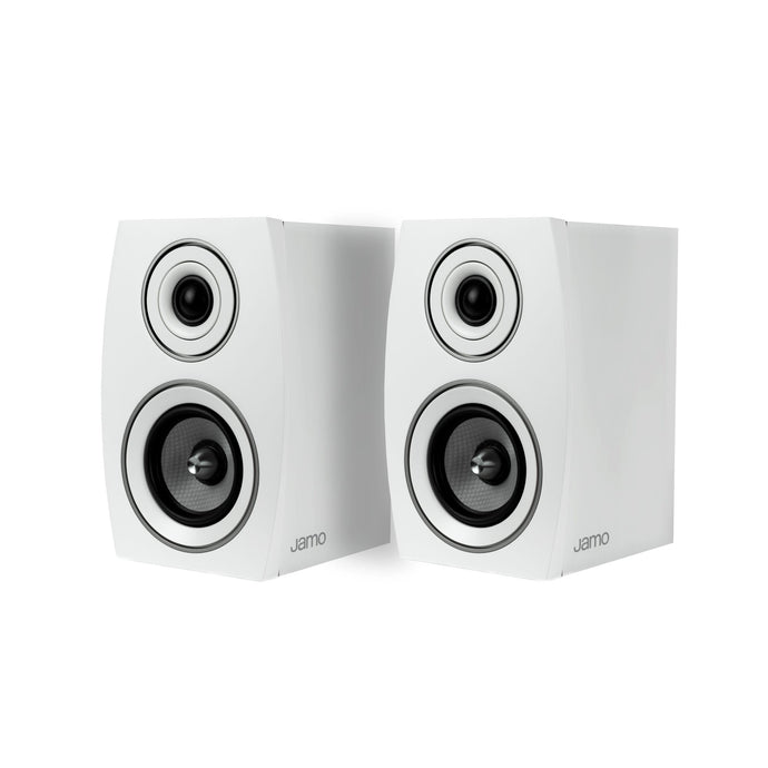 Jamo Concert Series C 91 II Bookshelf 2-Way Speaker Pair (White Oak)