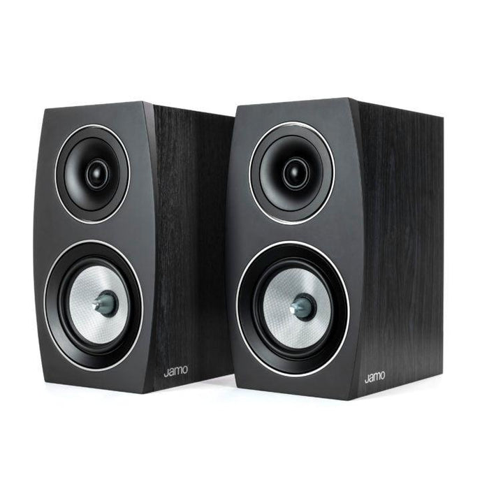 Jamo Concert Series C 93 II Bookshelf 2-Way Speaker Pair (Black Ash)