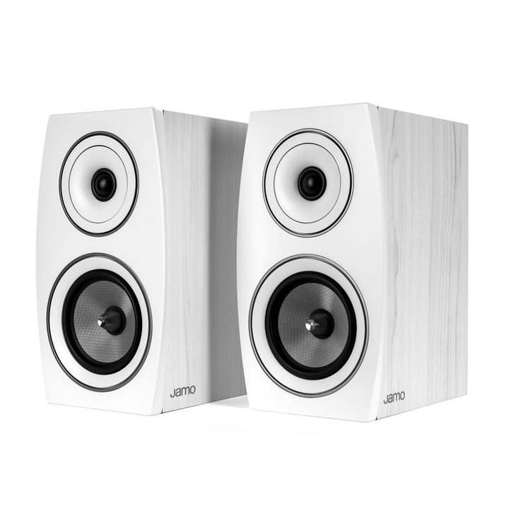 Jamo Concert Series C 93 II Bookshelf 2-Way Speaker Pair (White Oak)