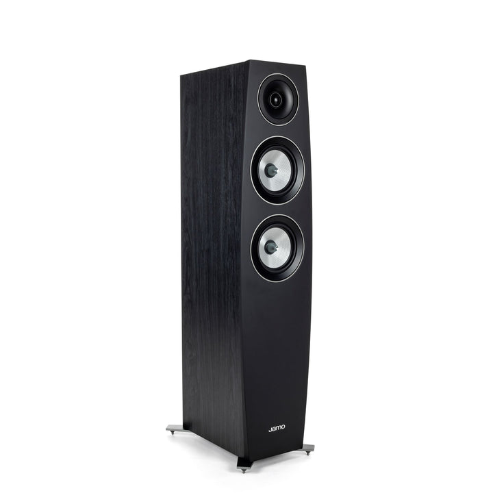 Jamo Concert Series C 95 II Floorstanding 2-Way Speaker (Black Ash)