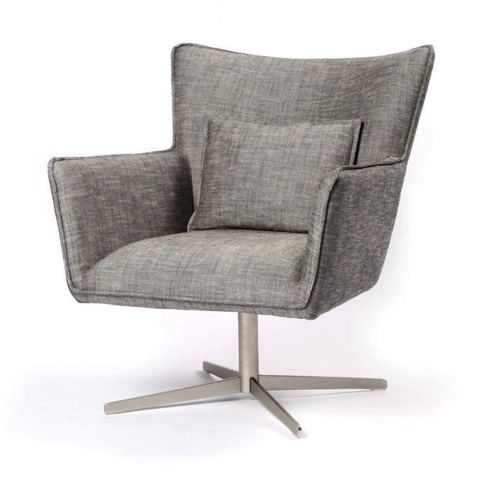 JACOB SWIVEL CHAIR (RAVEN) - Abbott Collection - Parker Gwen