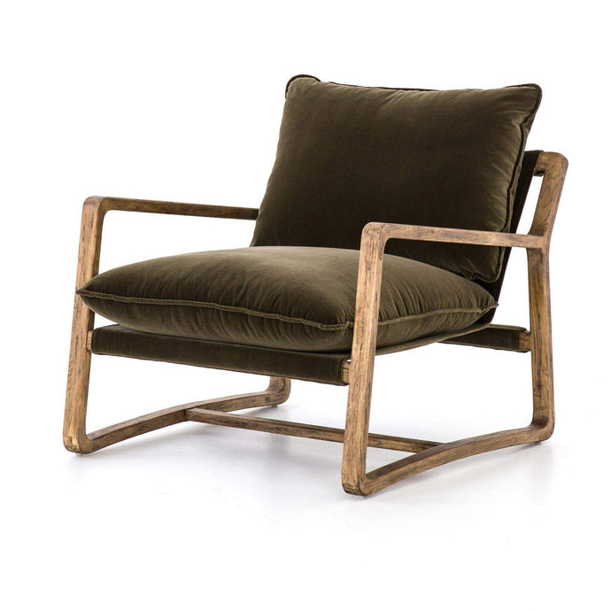 Ace Chair (Olive Green) - Abbott Collection - Parker Gwen