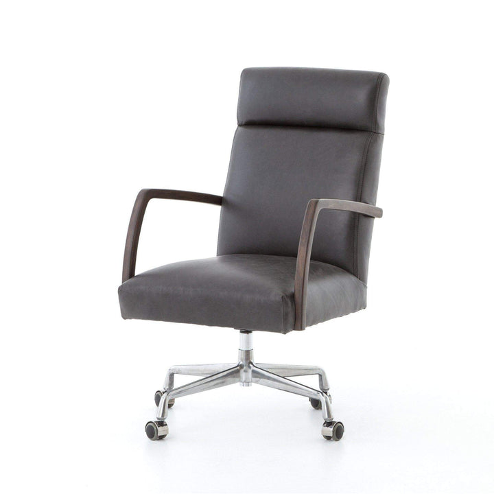 BRYSON DESK CHAIR (CHAPS EBONY) - Abbott Collection - Parker Gwen