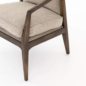 Alexandria Accent Chair (Honey Wheat) - Abbott Collection
