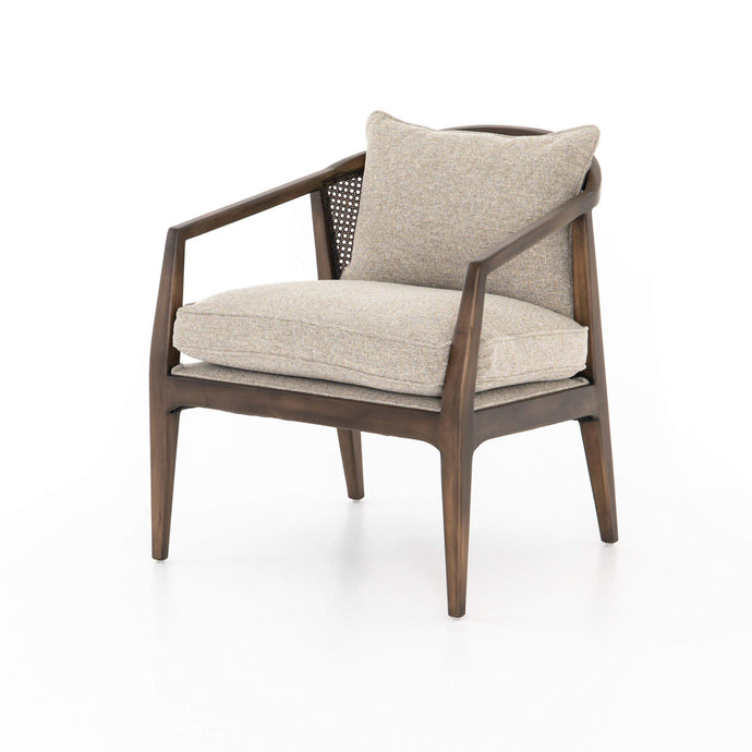 Alexandria Accent Chair (Honey Wheat) - Abbott Collection - Parker Gwen