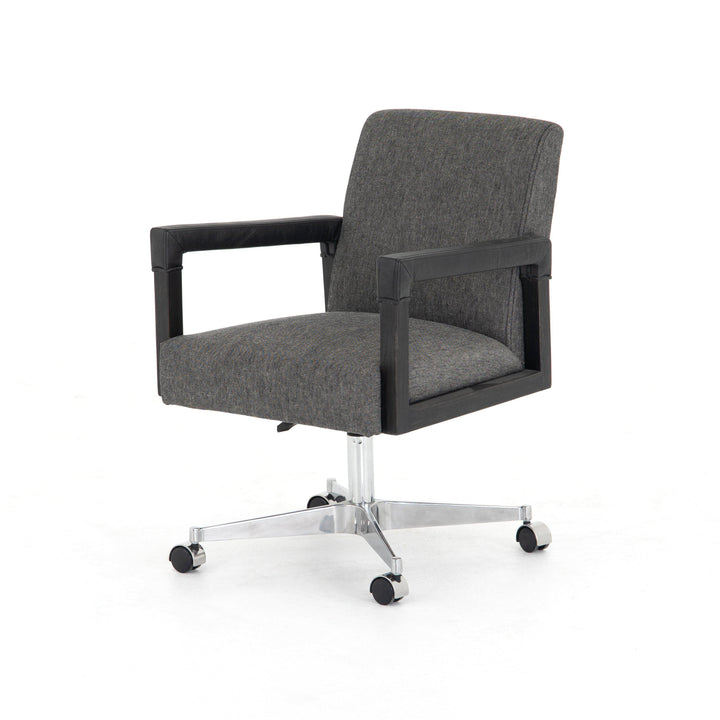 Reuben Desk Chair (Ives Black) | Desk Chair | parker-gwen.