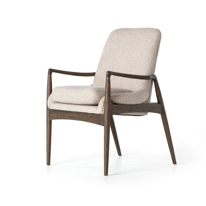 Braden Dining Armchair (Light Camel) - Ashford Collection - Parker Gwen