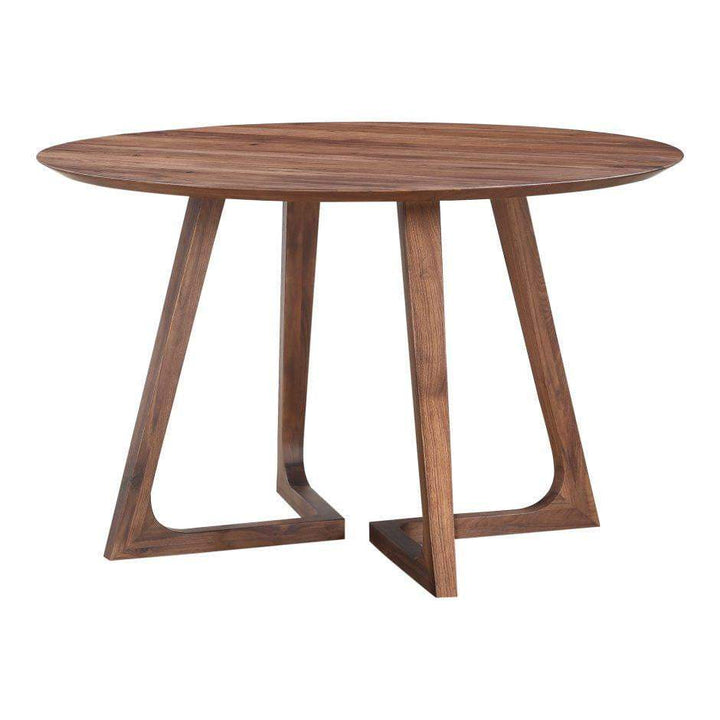 "Godenza Solid Walnut 47"" Round Dining Table - Parker Gwen"