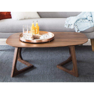 GODENZA Solid Walnut COFFEE TABLE - Parker Gwen