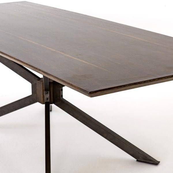 "Spider 79"" or 94"" Dining Table (English Brown) - Hughes - Parker Gwen"