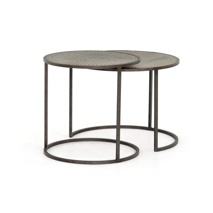 Catalina Nesting Tables (Galvanized) - Parker Gwen