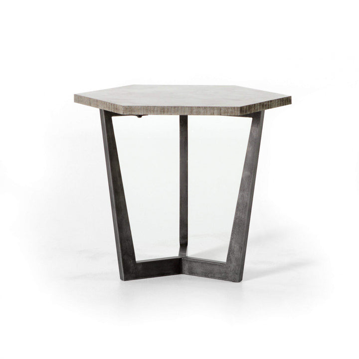Quentin End Table - Hughes Collection - Parker Gwen