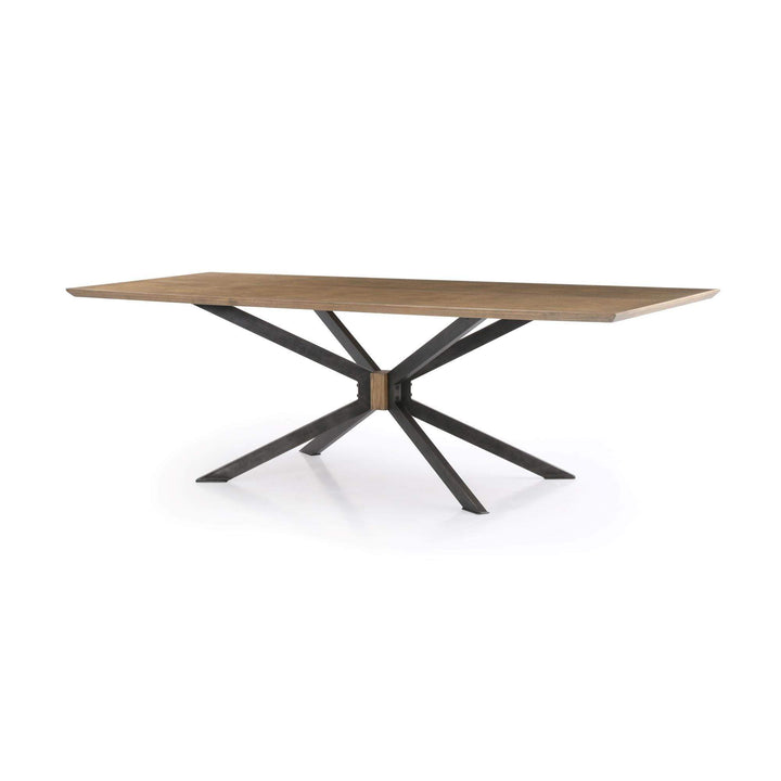 "Spider 79"" or 94"" Dining Table (Brass Clad) - Hughes-Dining Table-Parker Gwen"
